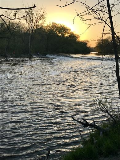 Milwaukee River Sunset