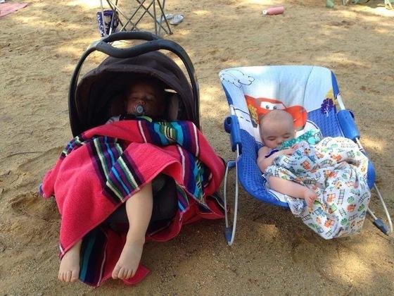 Nap at the beach
