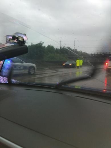 Wreck on 40 Winston Salem .. interstate 40
