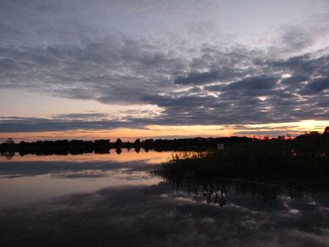 Sunset in Hubbard, Iowa