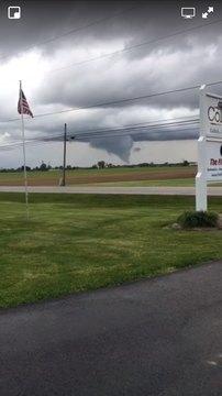 First tornado warning in NE Warren Co.