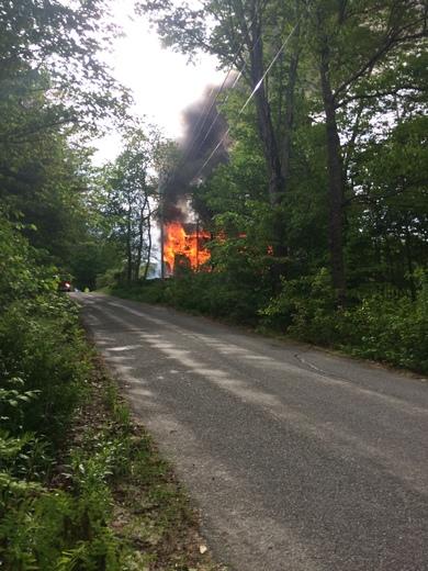 Fire - 5/28 Bristol NH