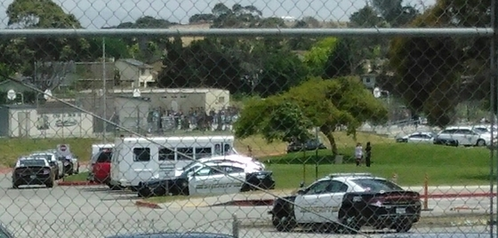 3/25/17 North Monterey County High School Bomb Threat Evacuation