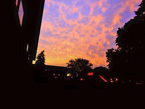 A Gorgeous Sunset Over Milwaukee