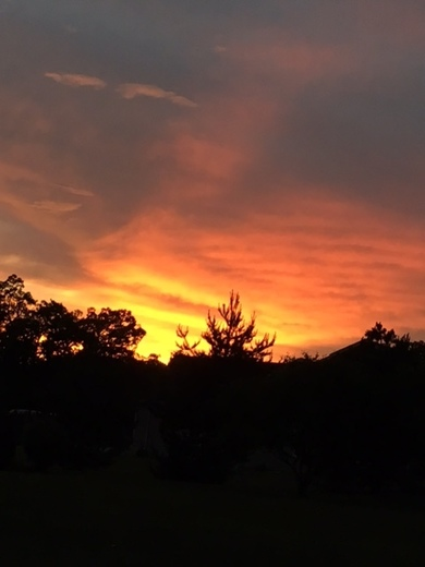 Sunset from Greenfield    from Kathleen