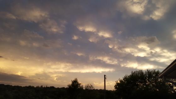 Sunset in Glenwood