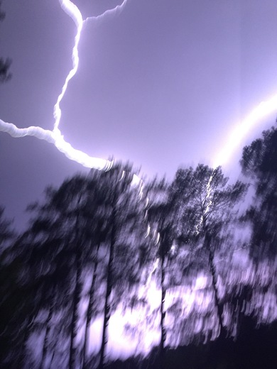 Lightening in Terry