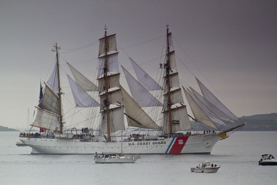 Tall ships Sail Boston - Robin Shahid