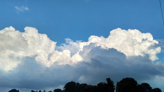 Amazing cloud layers...