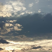 Ciel orageux.