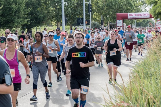 Saturday Freedom Oklahoma Marathon kicked off at Myriad Gardens