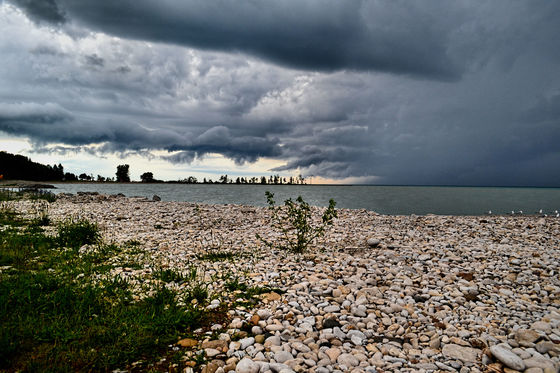 Storm Across Lake Huron 2