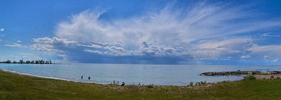 Storm Over Lake Huron