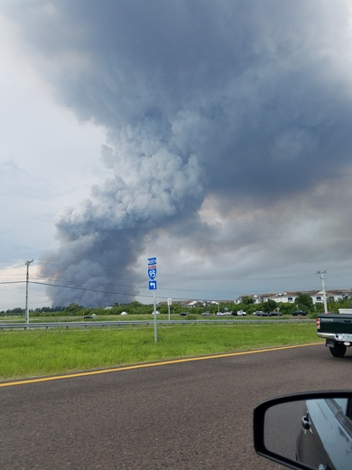 Rockledge/Cocoa Fire