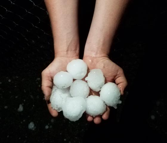 Holy hail!