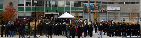 Remembrance Day at the Cenotaph