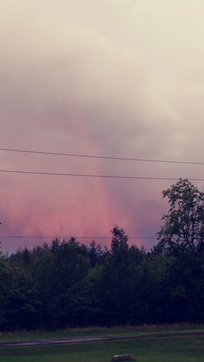 After Thunderstorms in Mooers N.Y.