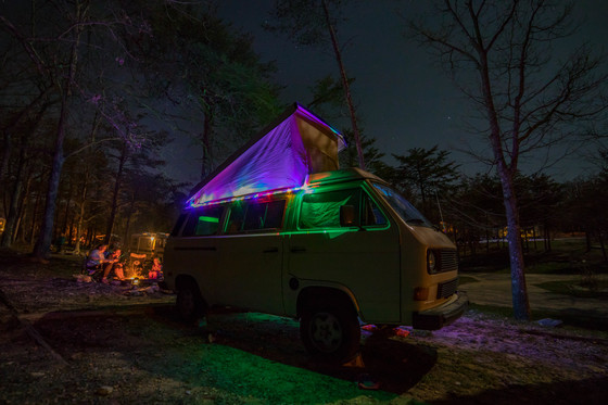 Camping Category Winner - Retro Camping