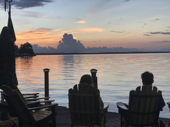 Sunset at Audubon Point