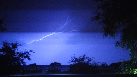 Thunder storm 7/12/17