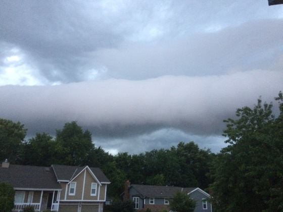 Lee's Summit storm cloud