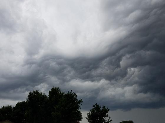 New Castle Storm Clouds