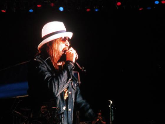 Cool pic of Kid Rock in Salinas