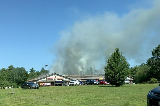 Waterboro Plaza Fire