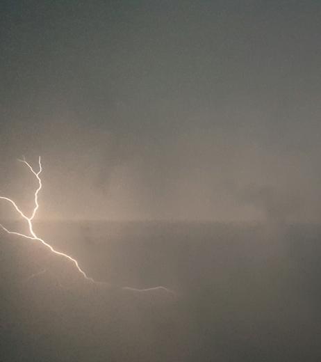 Lightning over Travelers rest