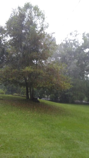 Raining in Lake, MS