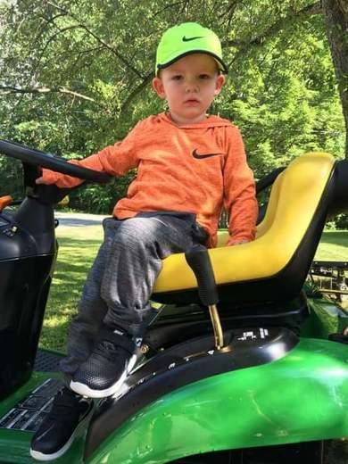 Big green tractor 🚜