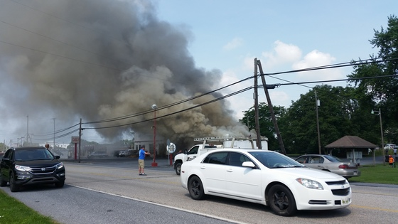 Fire in Lebanon County