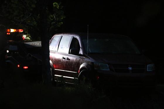 Stolen Red Dodge Van Found in Pond