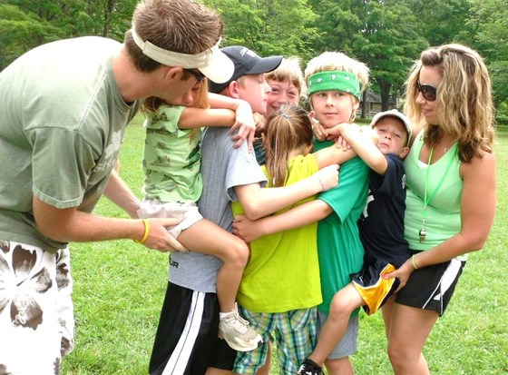 Allegany State Park family olympics