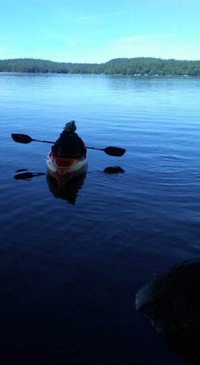 Leisure time on kayak!