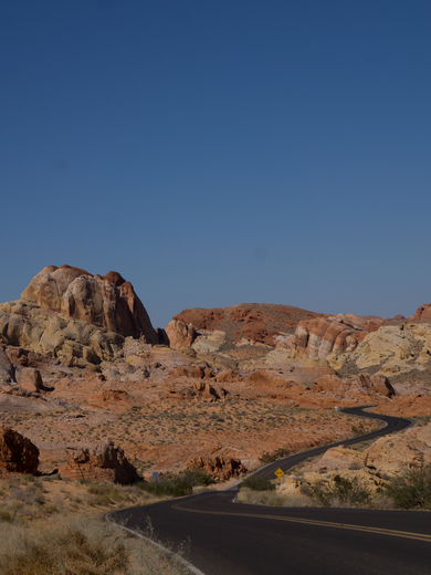 Road into Valley of Fire