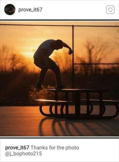 At a skatepark near Levittown