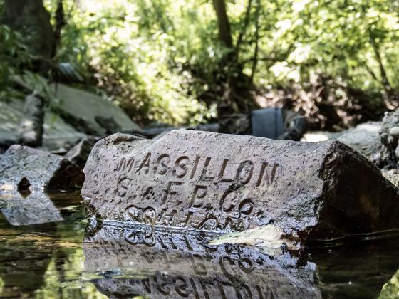 A Brick In The Creek