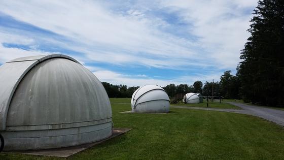 Telescope pod