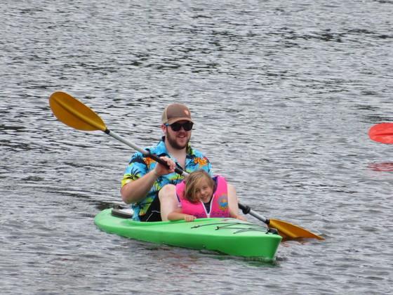 Kayaking on Red House Lake