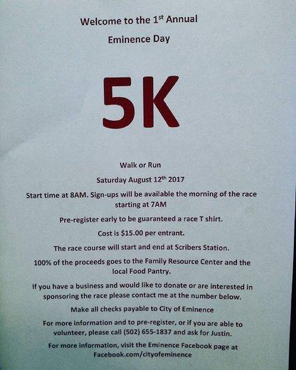 1st Annual 5K Run/Walk