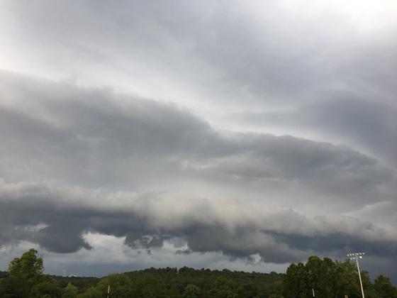 Thursday evening storms