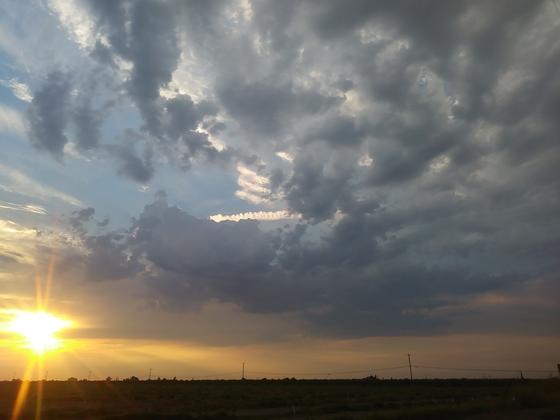 Lathrop sunset