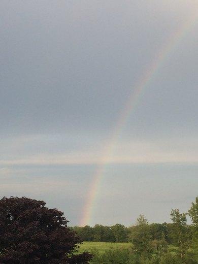 Acton Maine rainbow
