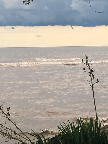 Funnel Cloud Forming Over Erie Pa From Long Point Beach Long Point Ontario