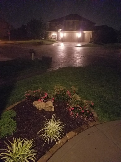 Flash flooding in Lee's Summit