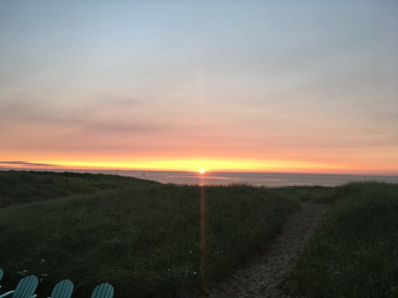 Sunrise at Seabrook Beach, NH