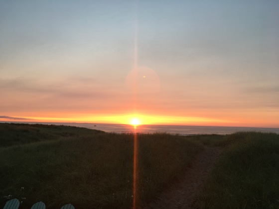 Sunrise at Seabrook Beach, NH