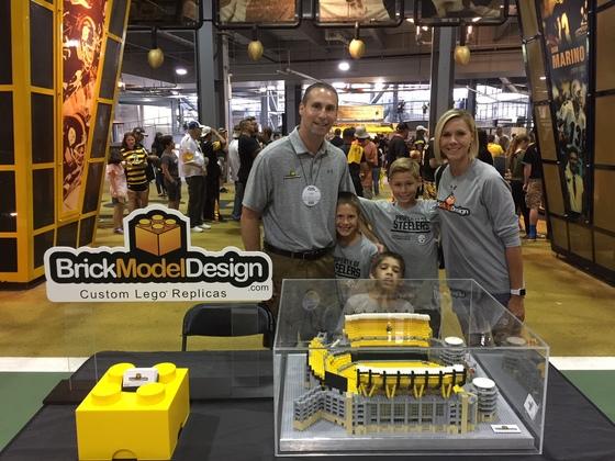 Steelers Family Fest Lego Heinz Field