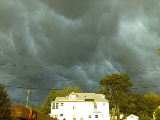 Last nights clouds in Nashua NH